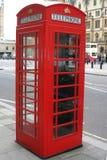 Cabina telefonica rossa Fotografia Stock Libera da Diritti