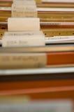 Cabina vieja de la carpeta Fotos de archivo libres de regalías