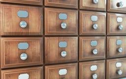 Cabina vieja del cajón de la vendimia Fotografía de archivo