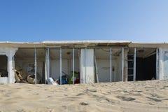 Cabinas abandonadas Fotografía de archivo libre de regalías