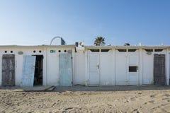 Cabinas abandonadas Imagen de archivo libre de regalías