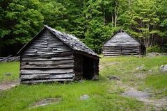 Cabinas de la montaña Foto de archivo libre de regalías