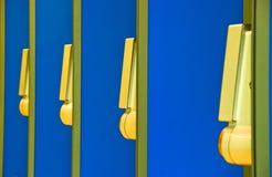 Cabinas de teléfono Foto de archivo