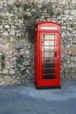 Cabinas de teléfono Fotografía de archivo libre de regalías