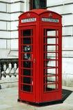 Cabinas de teléfono de Londres Imágenes de archivo libres de regalías