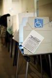 Cabinas de votación Fotos de archivo
