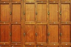 Cabinas viejas Imágenes de archivo libres de regalías
