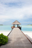 Cabine bem-vinda nos Tropics Fotos de Stock Royalty Free