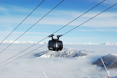 Cabine cableway Finitel in Jasna. Stock Photography
