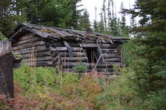 Cabine in Coloma Ghost Town Stock Foto
