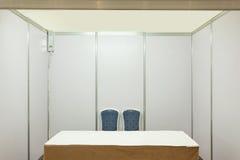 Cabine com iluminação Fotografia de Stock