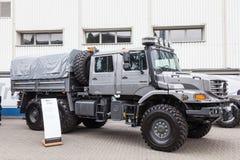 Cabine d'équipage de Mercedes Benz Zetros 6x6 Photographie stock