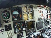 Cabine d'aéronefs Photographie stock