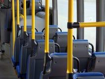 Cabine d'un bus de navette Image libre de droits