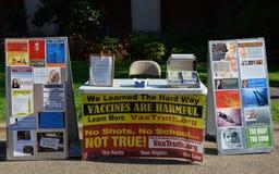 cabine da Anti-vacina Imagens de Stock Royalty Free