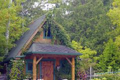 Cabine da floresta Foto de Stock Royalty Free