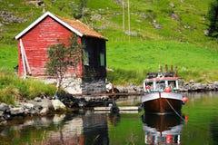 Cabine da pesca Fotos de Stock Royalty Free