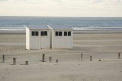 Cabine da praia Foto de Stock Royalty Free