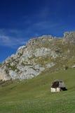 Cabine dans la montagne Image stock