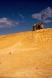 Cabine dans le désert Photo libre de droits