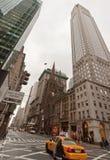 Cabine in de 5de Stad van New York van de Weg Stock Foto's
