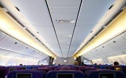 Cabine de aviões fotografia de stock