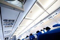 Cabine de aviões imagens de stock