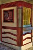 Cabine de bilhete da casa de filme Foto de Stock