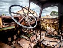 Cabine de camion photographie stock libre de droits