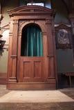 Cabine de confession Photo stock