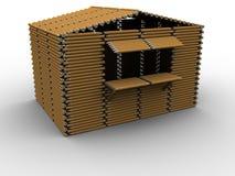 Cabine de crayon Images stock