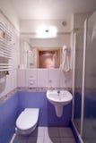 Cabine de douche de salle de bains. Photographie stock libre de droits