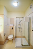 Cabine de douche de salle de bains Photos libres de droits