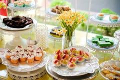 Cabine de gâteau de tasse Image stock