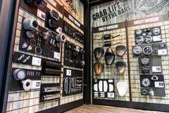 A cabine de Harley Davidson na 37th exposição automóvel do International de Banguecoque Imagens de Stock Royalty Free