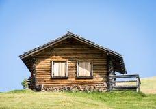 Cabine de log photos stock