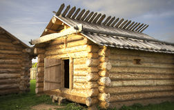 Cabine de madeira foto de stock royalty free