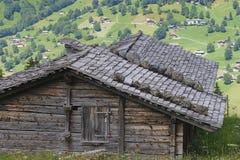 Cabine de montagne Photo libre de droits