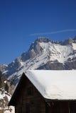 Cabine de montagne Photo stock