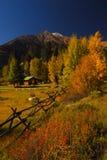 Cabine de montagne Photographie stock