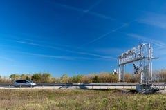 Cabine de péage de circulation photo libre de droits