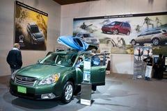 Cabine de Subaru à l'exposition automatique de Toronto Photographie stock libre de droits