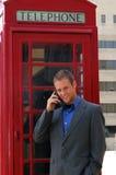 Cabine de téléphone Photographie stock libre de droits