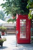 Cabine de téléphone britannique Images libres de droits