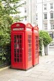 Cabine de téléphone de Londres Image stock
