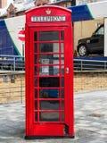 Cabine de téléphone rouge Londres Images libres de droits