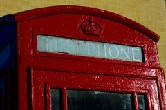 Cabine de telefone Fotos de Stock