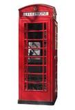 Cabine de telefone foto de stock