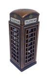 Cabine de telefone de Inglaterra Foto de Stock