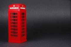 Cabine de telefone de Londres Fotos de Stock Royalty Free